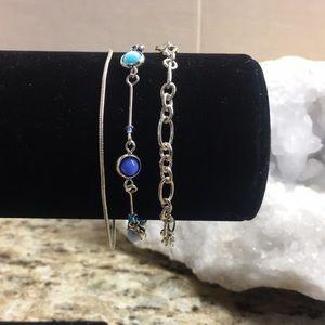 Jewelry - 3 Silver Bracelets